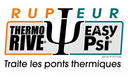 Thermo'Rive® et EasyPsi®, une solution optimale pour traiter les ponts thermiques