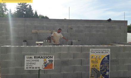 L'entreprise Rimasson de Servon-sur-Vilaine (35) a choisi Technibloc de Perin