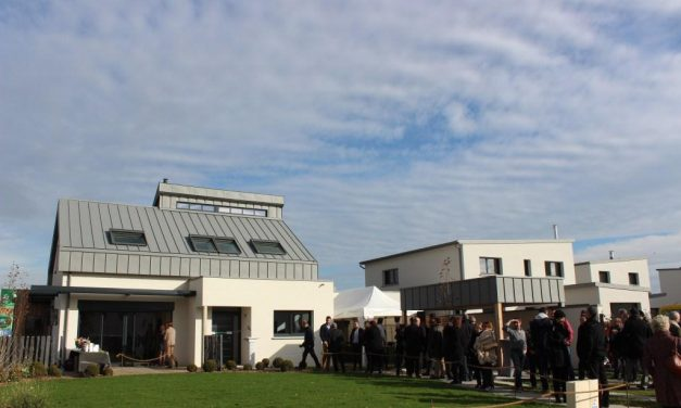 Les Maisons rennaises inaugurent la nouvelle maison Air et Lumière à Betton (35)