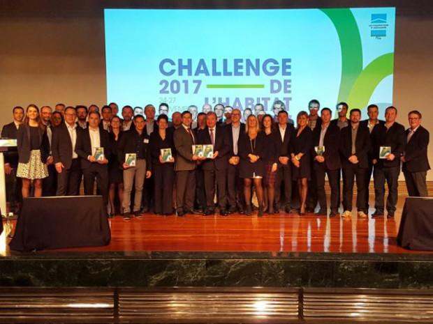 """Air'Bloc®, lauréat du Challenge de l'habitat innovant 2017 de Madrid, catégorie """"Gros œuvre"""""""