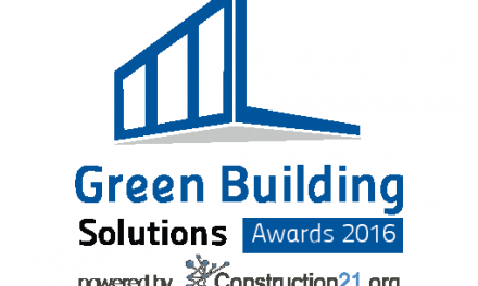 Les lauréats du concours Green Building & City Solutions Awards