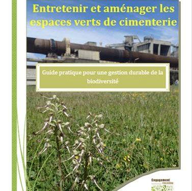 Entretenir et aménager les espaces verts de cimenterie