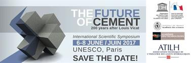 Symposium scientifique international à Paris, « The Future of Cement »
