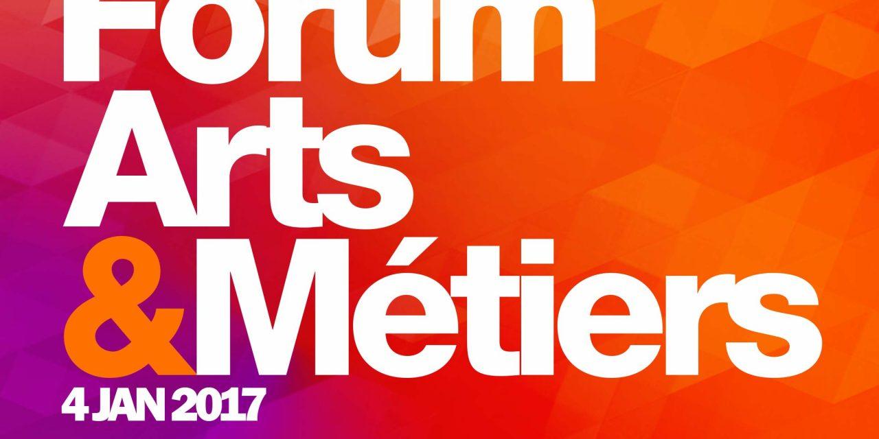 37e édition du forum des Arts et Métiers le 4 janvier 2017