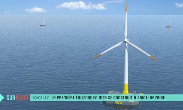 Granulex® retenu pour fabriquer le flotteur de la première éolienne en mer