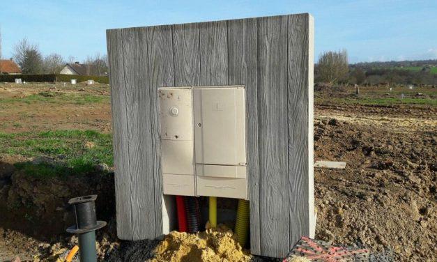 63 murets techniques installés à Condé-sur-Vire dans la Manche