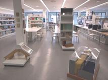 Perin & Cie avec la matériauthèque de l'Ecole nationale supérieure d'architecture