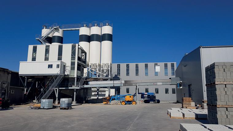 Modernisation de grande ampleur de la centrale à béton sur le site de Perin et Cie à Redon