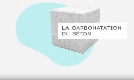 La « carbonatation » du béton, véritable piège à CO2 !
