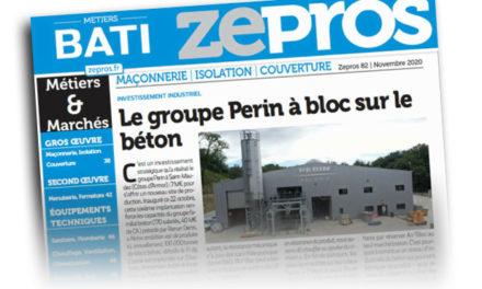 Article de presse dans BATI  ZEPROS