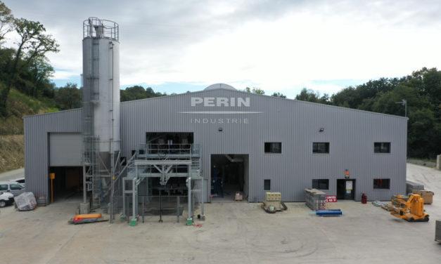 Le groupe Perin dédie son 6ème site de production à son bloc béton isolant bas carbone