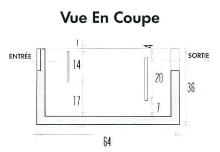 bac d graisseur 640x380mm perin groupe. Black Bedroom Furniture Sets. Home Design Ideas