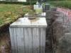 bâche de stockage pour eaux usées