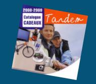 Catalogue cadeau Tandem