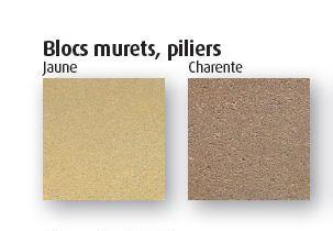 couleur blocs murets