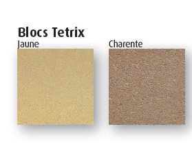 couleur blocs Tetrix
