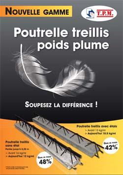 """""""Poutrelle treillis - poids plume !"""""""