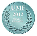 Challenge UMF 2012 - Médaille argent - Mixité urbaine