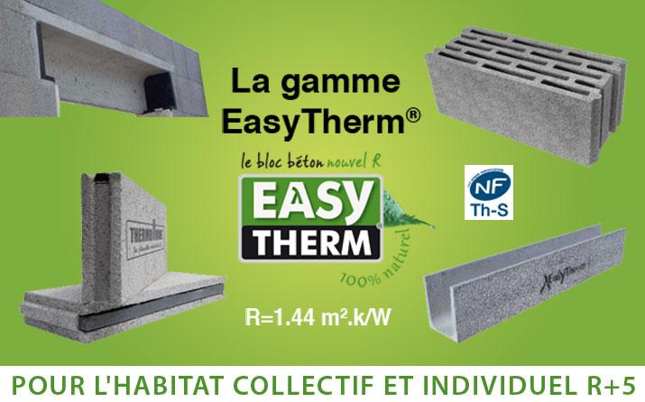 La gamme EasyTherm®