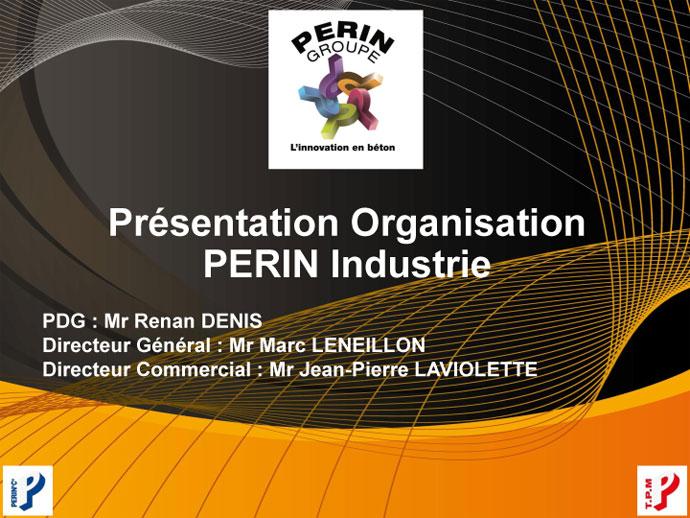 Présentation PDF - PERIN GROUPE