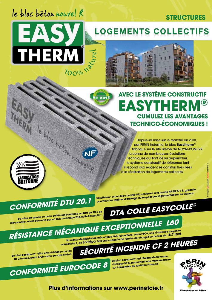 Easytherm habitat collectif - Pour les BE Structures