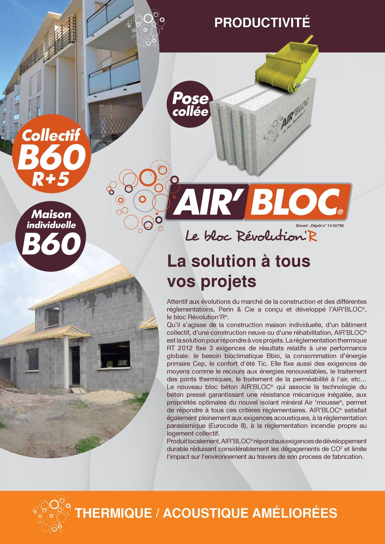 Air'bloc la solution à vos projets
