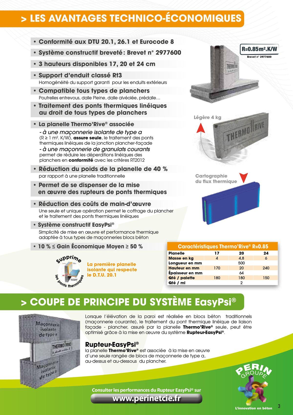 Le Rupteur Thermorive traite les ponts thermiques page 3