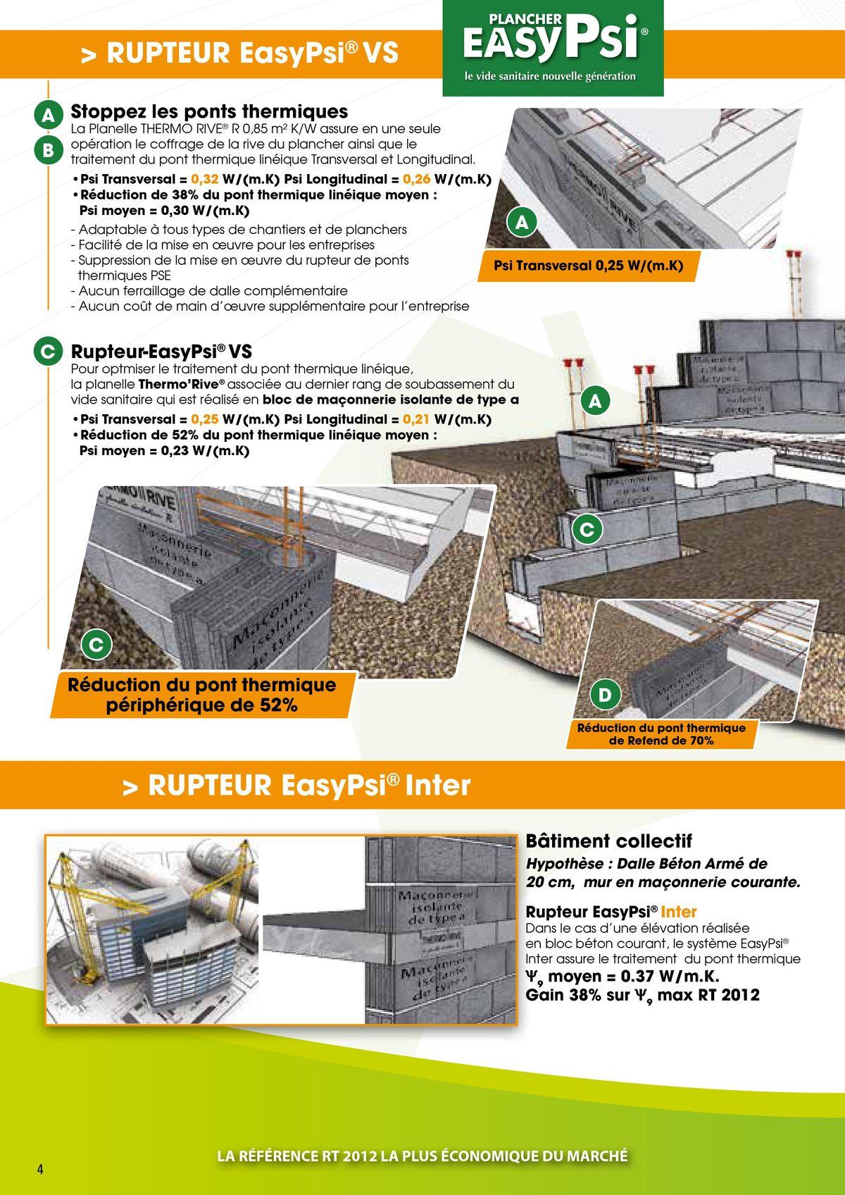 Le Rupteur Thermorive traite les ponts thermiques page 4