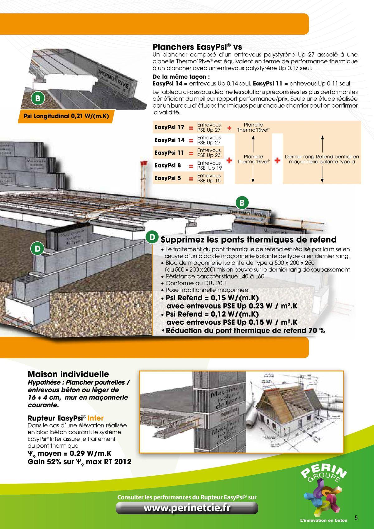 Le Rupteur Thermorive traite les ponts thermiques page 5