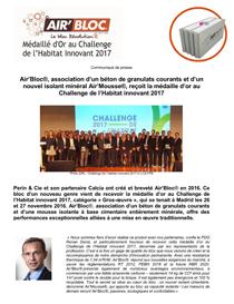 visuel médaille or challenge 2017