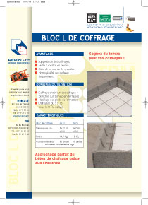 bloc de coffrage