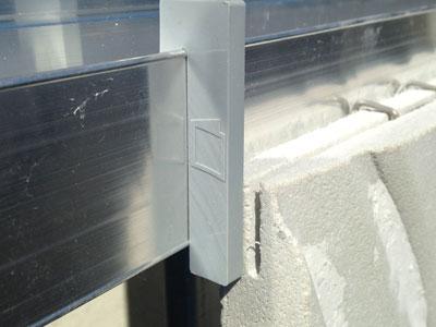 cales pour l'alignement des plaques