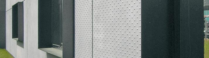 matière bardaclean facade motif pois en relief