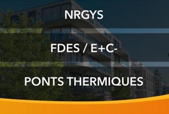 NRGYS - FDES / E+C - Ponts thermiques